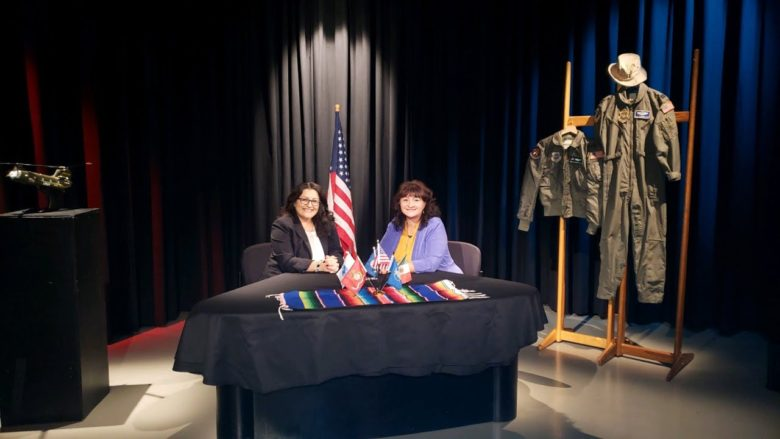 Combat Aviator Sisters-in-Arms, A chat with Latina Military Veterans Olivia & Graciela.